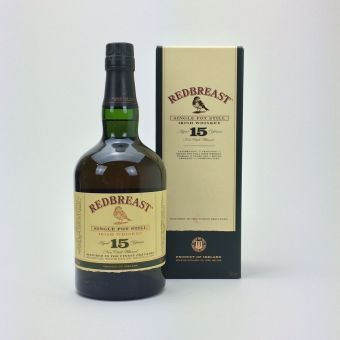 Redbreast 15 Jahre alt, Single Whiskey