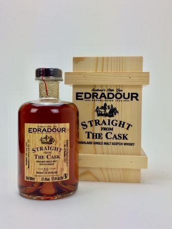 Edradour 10 Jahre Sherry  SFTC (Straight From The Cask)
