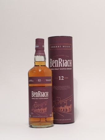 BenRiach 12 Jahre  Sherry Wood 2020